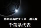 2019千葉県ブロックトレセンリーグU-11 12/22結果!リーグ表更新!