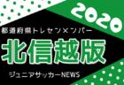 2020年度 第35回デンソーカップチャレンジサッカー熊谷大会  関東C・北信越選抜メンバー発表!