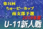 2019年度 高円宮杯U-18サッカーリーグ 徳島県Tリーグ 結果掲載!
