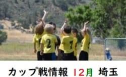 12月のカップ戦まとめ(埼玉)大会、結果情報お待ちしています 随時更新中