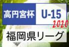 2020年度 高円宮杯JFA U-15サッカーリーグ福岡県ユース(U-15)サッカーリーグ 9/19.20.21.22結果! 次節9/26.27