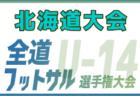 【大会中止】2019年度第30回全道少女フットサル大会(北海道)組合せ掲載!2/22,23開催!