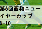2019年度 第41回 かつらぎサッカー大会 新人戦1部U-11(奈良県開催) 優勝はディアブロッサ高田FC A!
