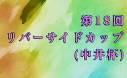 2019度 第18回リバーサイドカップ(中井杯)U12(宮崎県)組合せ掲載!2/15.16開催