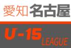 【中止】2020年度 名古屋U-15サッカーリーグ  (愛知)
