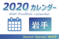 2020年度 サッカーカレンダー【岩手】年間スケジュール一覧