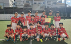 2019年度 第14回 第7ブロック2年生大会(東京都) 優勝はFCトリプレッタA!