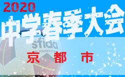 【大会中止】2020年度 京都市中学校春季総合体育大会 サッカーの部 例年4月開催