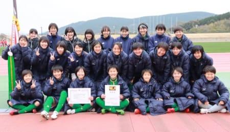 2019年度第54回長崎県高校サッカー新人戦(女子)優勝は鎮西学院!