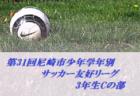 2019年度 日刊スポーツ杯第26回関西小学生サッカー大会 那賀予選(和歌山県) 優勝は貴志川SSS!