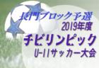 2019年度第6回広島県U-10サッカーフェスティバル南支部予選 優勝はサンフレッチェ!