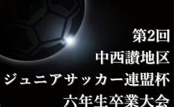 2019年度 第2回 中西讃地区ジュニアサッカー連盟杯 六年生卒業大会 組合せ掲載!2/22.23開催