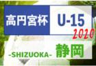 2019年度 東北高校新人サッカー選手権大会 1/25,26,27結果速報!