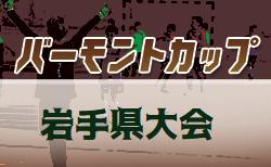 2019年度 JFAバーモンドカップ第30回全日本 U-12フットサル選手権大会岩手県大会全試合結果掲載!優勝は太田東!