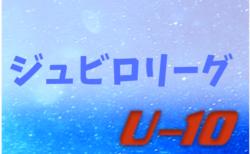 2019年度 ジュビロU-10リーグ戦(静岡)1/19までのリーグ戦表更新!次は1/25,26