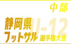 第17回 U-12静岡県フットサル選手権大会 中部支部予選 1/18・19結果情報お待ちしております!