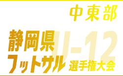第17回 U-12静岡県フットサル選手権大会 中東部支部予選 優勝はNied2007 FutsalClub!