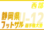 2019年度 東北U-15選抜フットサル大会結果掲載!優勝は岩手県選抜A!