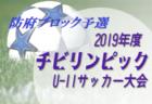 2019年度JA共済カップ第9回山口県少年サッカーU-11周南ブロック予選大会詳細募集!