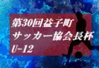 2019年度 第30回益子町サッカー協会長杯U-11 (栃木県)優勝はRISO!1/11.12開催!