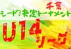 2019年度 U-14鳥取県サッカー大会 西部リーグ 大会詳細・組合せ募集!