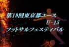 2019年度 LIGA SWS U-14 日程情報募集中 2/12結果判明分更新!
