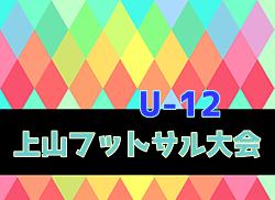 2019年度 第43回上山フットサル大会 U-12(山形)優勝はつばさキッカーズ!