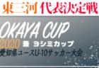 2020年度 フジパンカップ ユースU-12サッカー大会 愛知県大会 東三河地区代表決定戦  日程決定!8/22~9/13開催予定
