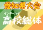 【大会中止】2020年度 愛知県高校総体 女子サッカー競技 インターハイ