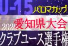 2020年度 パロマカップ 第35回日本クラブユースサッカー選手権U-15 愛知県大会 ベスト4決定! 8/2準々決勝結果速報!次回準決勝8/8