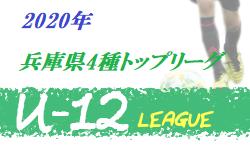 2020年兵庫県4種トップリーグ   9/21,22結果速報
