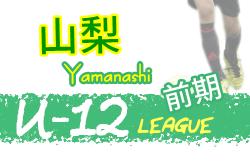 【4/19は中止】JFA U-12サッカーリーグ2020山梨【前期】!日程募集中