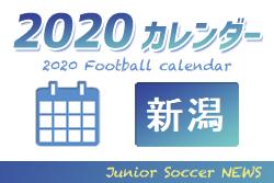 2020年度 サッカーカレンダー【新潟県】年間スケジュール一覧