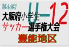 2020年度 第44回大阪府小学生サッカー選手権大会 北河内地区予選 5月 情報お待ちしています!