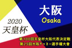 【延期】2020年度 第100回天皇杯大阪代表決定戦・第25回大阪サッカー選手権大会 3月開催!情報お待ちしています!