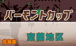 2020年度バーモントカップ第30回全日本U-12フットサル選手権大会 室蘭地区予選(北海道) 優勝は高平レグルスFC!