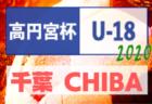 高円宮杯JFA U-18サッカーリーグ2020千葉 1部結果速報9/20!2部リーグ戦表への入力にご協力お願いします