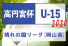 【準決・決勝延期】2020年度 パロマカップ 第35回日本クラブユースサッカー選手権U-15 愛知県大会