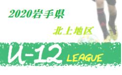 JFA U-12サッカーリーグ2020岩手北上地区  7/15 一部結果更新!次回7/18開催