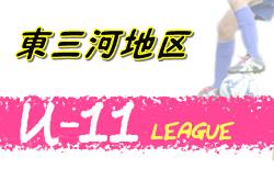 2020年度 東三河地区U-11サッカーリーグ (愛知)  結果速報!情報お待ちしています!10/17,18