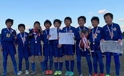 2019年度 第20回 アゼリアカップ2020 4年生大会(愛知) 優勝はシルフィードFC!