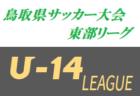 2019年度 U-14鳥取県サッカー大会 東部リーグ 大会詳細・組合せ募集!