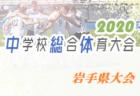 【大会中止】2020年度 岩手県中学総体 サッカー競技岩手県大会 7月