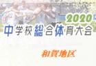 2020年度 和賀地区中学総体サッカー競技(岩手) 6/16~  開催可否情報お待ちしています