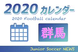 【5月末まで延期・中止情報掲載】2020年度 サッカーカレンダー【群馬】年間スケジュール一覧
