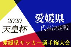 【中止】2020年度 愛媛県サッカー選手権大会・天皇杯JFA第100回代表決定戦  代表はFC今治