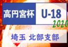 【延期】2020年度 高円宮杯 JFA U-18 サッカーリーグ 東部支部(埼玉県) 大会情報募集