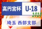 【延期】2020年度 高円宮杯 JFA U-18 サッカーリーグ南部支部(埼玉県) 大会情報募集