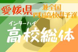 【大会中止】2020年度 愛媛県高校総体サッカー競技(男子)インハイ