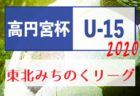 【大会中止】高円宮杯JFA U-15サッカーリーグ2020東北みちのくリーグ